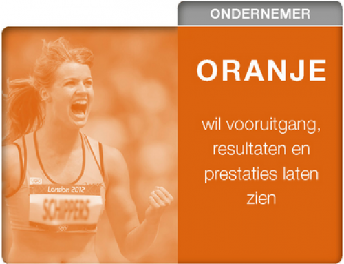 Management Drives – oranje